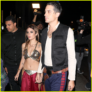 Halsey & G-Eazy Dress Up as 'Star Wars' Characters for Kendall Jenner's Halloween Bash!