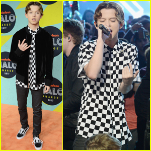 Jacob Sartorius Hits the Carpet at the Nickelodeon Halo Awards 2017!