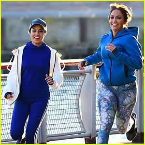 Vanessa Hudgens is All Smiles While Filming 'Second Act!'