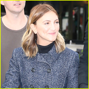 Julia Michaels is All Smiles While Out in London!