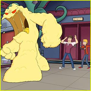 Kid Danger & Captain Man Battle A Popcorn Monster In 'Adventures of Kid Danger' First Look Clip! (Exclusive)