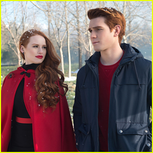 KJ Apa & Madelaine Petsch Know Exactly Who Black Hood is on 'Riverdale'