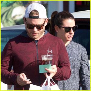 Lea Michele Shares Cute Snap with Boyfriend Zandy Reich