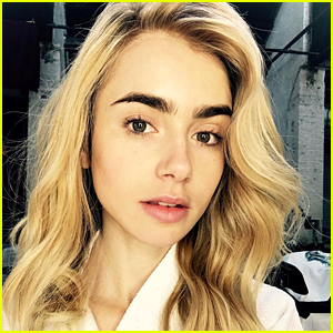 Lily Collins Surprises Fans By Going Blonde - See Her New Look Now!