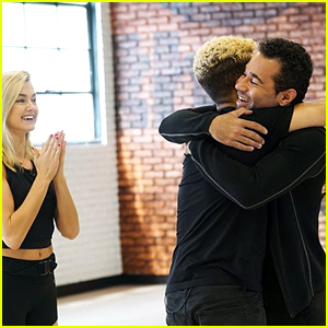 Lindsay Arnold Researched Corbin Bleu's Old Dances Right After Performing on 'DWTS' (Exclusive)