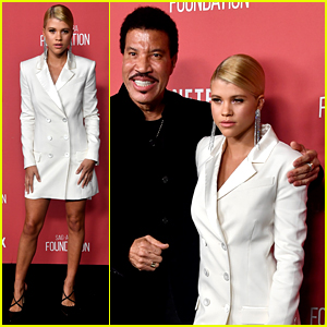 Sofia Richie Supports Dad Lionel at SAG-AFTRA Awards 2017