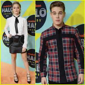 Lizzy Greene Had a Blast at the Nickelodeon Halo Awards 2017!