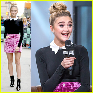 Lizzy Greene Gets Chased By A Giant Cat in 'Tiny Christmas' First Look!