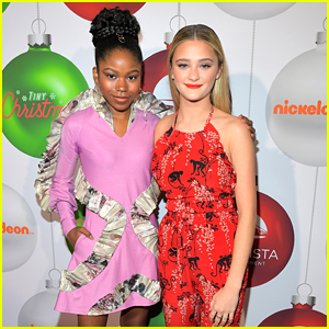 Lizzy Greene & Riele Downs Host Festive 'Tiny Christmas' Premiere in LA