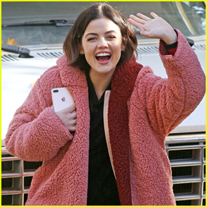 Lucy Hale Shares Full Cast Pic From 'Life Sentence' Set