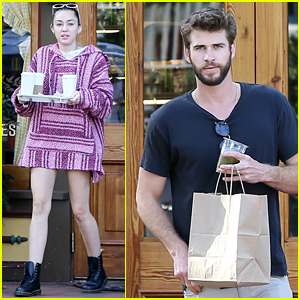 Miley Cyrus Joins Liam Hemsworth During Break From 'Killerman' Filming