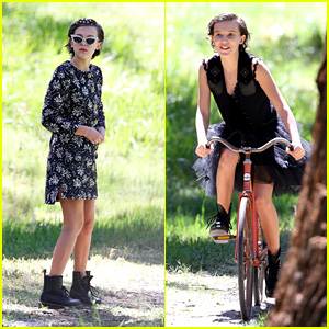 Millie Bobby Brown Looks Stylish While Posing for a High Fashion Shoot in Australia!