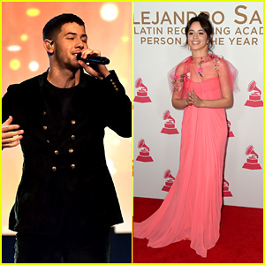 Nick Jonas & Camila Cabello Perform Tribute to Alejandro Sanz at Latin Grammy Awards 2017!