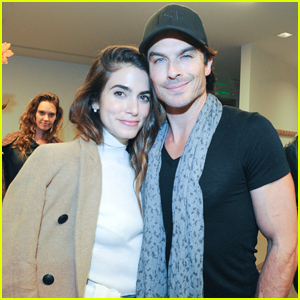 Ian Somerhalder & Nikki Reed Celebrate 'Kiss the Ground' Book Launch