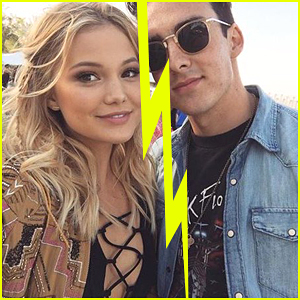 Olivia Holt Splits From Boyfriend Ray Kearin