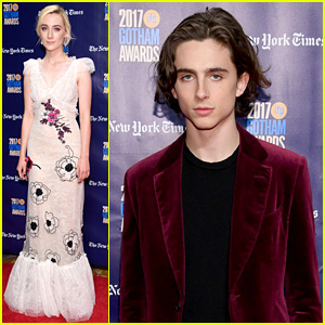 Saoirse Ronan & Timothee Chalamet Are Both Winners at Gotham Awards 2017!