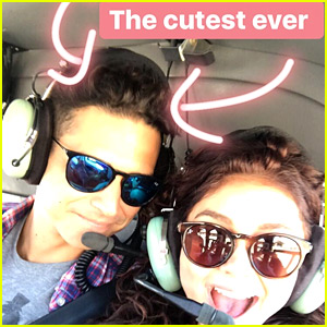 Sarah Hyland's Boyfriend Took Her On a Romantic Helicopter Ride!