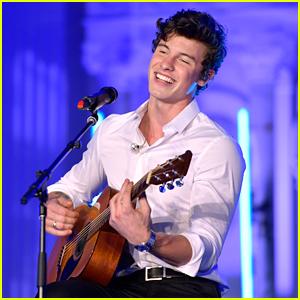 Shawn Mendes Celebrates & Performs at Spotify's Secret Genius Awards