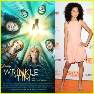 Storm Reid Steps Out Ahead of New 'Wrinkle In Time' Trailer