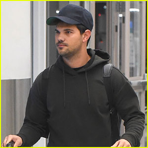 Taylor Lautner Shows Off Aerial Skills At Adam Sandler's Show