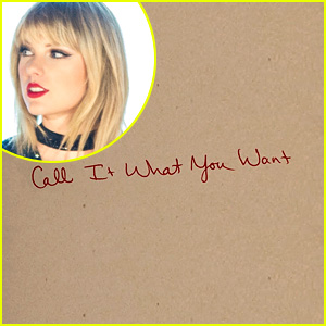 Taylor Swift Drops New Song 'Call It What You Want' - Listen Here!