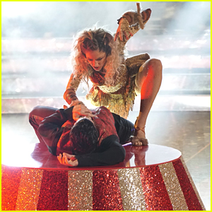 Lindsey Stirling Sambas With Mark Ballas For DWTS Season 25 Week #8 (Video)