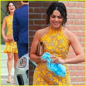 Vanessa Hudgens Starts Work on 'Dog Days'