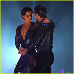 Victoria Arlen & Val Chmerkovskiy Bring The Drama with Argentine Tango on DWTS Season 25 Week #8 (Video)