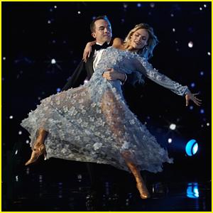 Frankie Muniz & Witney Carson's Viennese Waltz is 'Perfect' DWTS Season 25 Week #8 (Video)