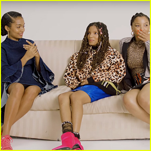 Yara Shahidi & Chloe X Halle Share Their Thoughts on the World in 2018 (Video)