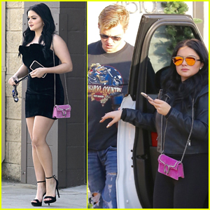 Ariel Winter Looks Glam Leaving a Studio with Boyfriend Levi Meaden!
