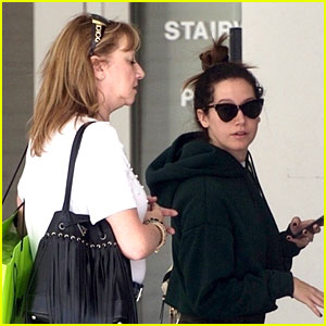 Ashley Tisdale Goes Holiday Shopping With Mom Lisa