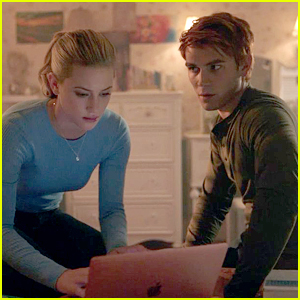 Lili Reinhart & KJ Apa Dish About What Betty & Archie's Kiss in 'Riverdale' Really Means