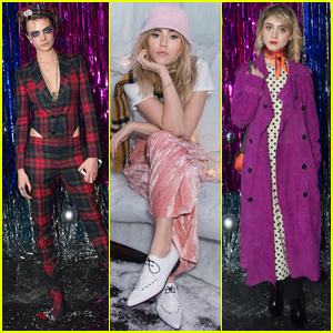 Cara Delevingne Hosts Star-Studded Holiday Party!