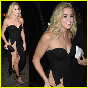 Chloe Lukasiak Glams Up For Dinner Out in LA