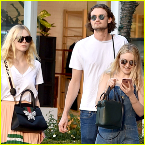 Dakota Fanning Spends Time with Her Boyfriend & Sister!