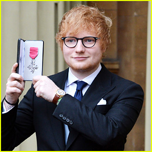 Ed Sheeran Honored With MBE for Services to Music & Charity at Buckingham Palace!
