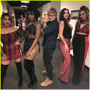 Fifth Harmony Became Ed Sheeran's 'Angels' in #FBF Photo & We Are Here For It!