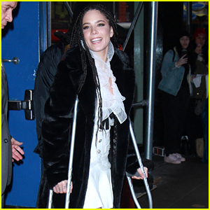 Halsey Broke Her Foot After Telling Fifth Harmony to 'Break a Leg'!