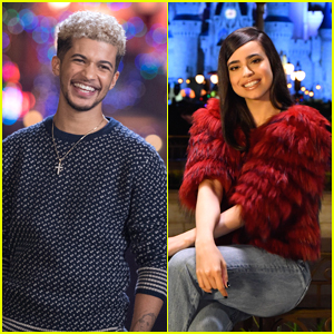 Jordan Fisher & Sofia Carson Team Up For 'Decorating Disney: Holiday Magic' Special