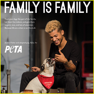 DWTS' Jordan Fisher & Pup Sora's New 'peta2' Ad Will Be The Best Thing You See Today