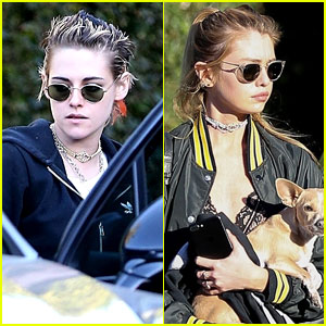 Kristen Stewart & Stella Maxwell Step Out Together in WeHo