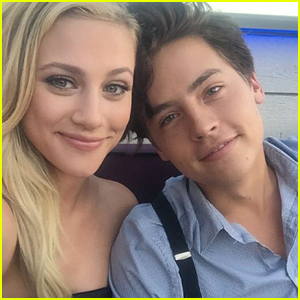 Lili Reinhart Calls Cole Sprouse a 'Nugget' While Watching Old 'Friends' Reruns