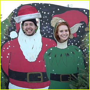 Madelaine Petsch Kicks Off 12 Days Of Christmas With Boyfried Travis Mills