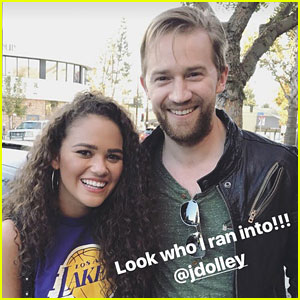 Madison Pettis & Jason Dolley Have Mini 'Cory In The House' Reunion!