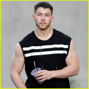 Nick Jonas' Muscles Look So Buff Even Before His Workout!