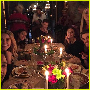 The Originals Gather For Final Night Dinner After Filming Final Scenes