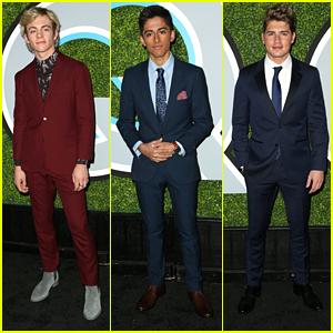 Ross Lynch, Karan Brar & Gregg Sulkin Suit Up So Sharp For GQ's Men of the Year Party