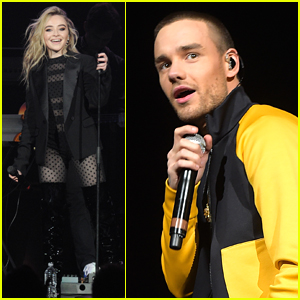 Sabrina Carpenter Joins Liam Payne at Jingle Ball in Tampa!