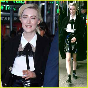 Saoirse Ronan Talks About Her 'Saturday Night Live' Debut!